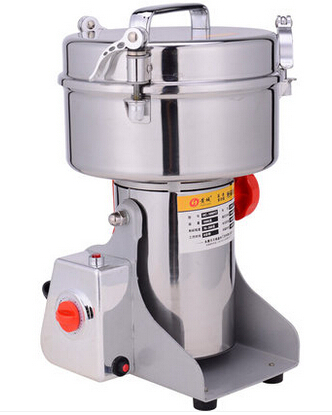 Large Multifunction Swing Type 2000g Portable Grinder 2KG Herb Flood Flour Pulverizer Food Mill Grinding Machine