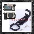 Pro vertical tipo l suporte tripé quick release placa base câmera pega para sony a6000 ilce-6000 pt142