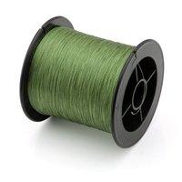 Wholesale 5X Nylon Fishing Wire Braid 12LB 5 5kg 200M For Lure Trolling Army Green