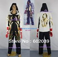 Tekken 4 Jin Kazama hoodie jacket denim and canvas made include faux leather gloves Good Quality ACGcosplay