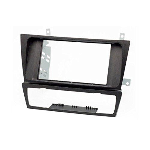 2 Din Car Radio Stereo Fascia Panel Frame DVD Dash Installation Kit for BMW 3-series (E90/91/e92/e93) 2004-2012 liislee 2 din plastic frame panel for alfa romeo giulietta 940 2010 2016 aftermarket radio stereo dvd gps navi installation