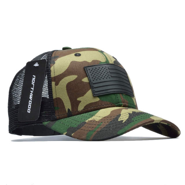 23abfef5d29b3 Online Shop  NORTHWOOD  Camo Mesh Baseball Cap Men Camouflage Bone  Masculino Summer Hat Men Army Cap Trucker Snapback Hip Hop Dad Hat