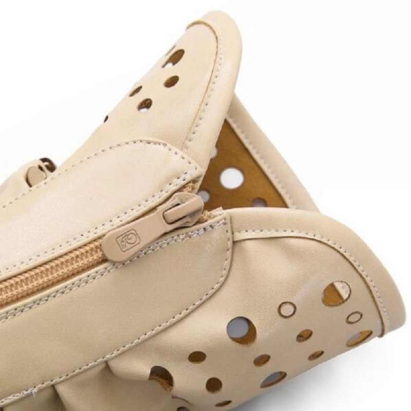 Модные женские ботинки-гладиаторы на плоской подошве с Т-образным ремешком; женские повседневные летние ботинки на плоской подошве; цвет бежевый, хаки; Новинка 2019 года; женские брендовые ботинки в римском стиле