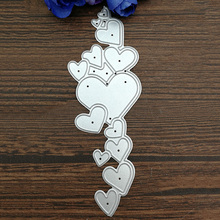 Heart Border Metal Cutting Dies for Scrapbooking