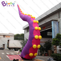 7meters high giant Inflatable building octopus jellyfish tentacles toys