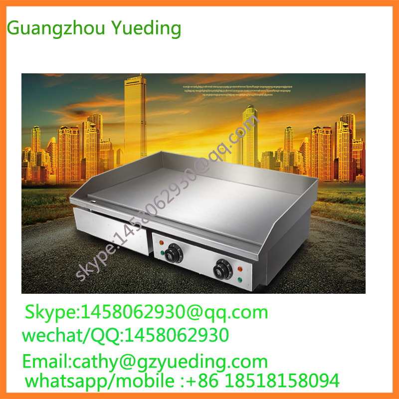 Europe Design Commercial Kitchen Equipment Griddle Restaurant equipment electric griddle made in china