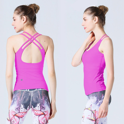 Sleeveless Padded Breathable Full Cup Gym Vest
