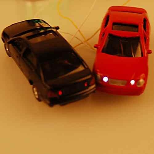 10 sztuk HO skala 1/100 dobrze malowane modele samochodów pociągu kolejowego dekoracje ulicy układ budynku zabawki