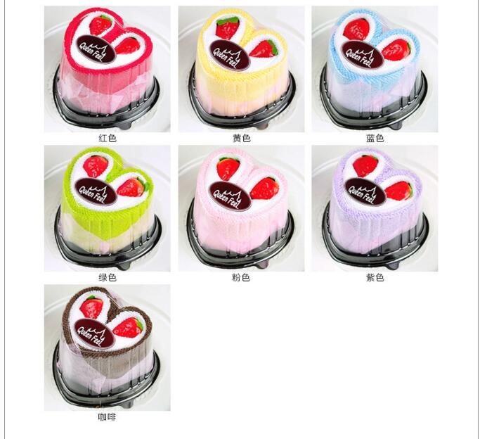 10pcs/lot! Hot sale!100% Cotton New creative cake towel wedding gift,Children present wholesales