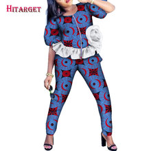 2019 Autumn women clothing set dashiki african Women Set Fashion top and pants suit for clothes WY3529