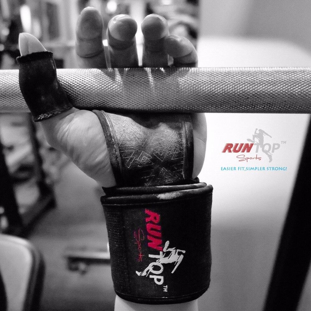 RUNTOP Finger Daumenhülsen Hakengriffschutz für Gewichtheben - Fitness und Bodybuilding - Foto 3