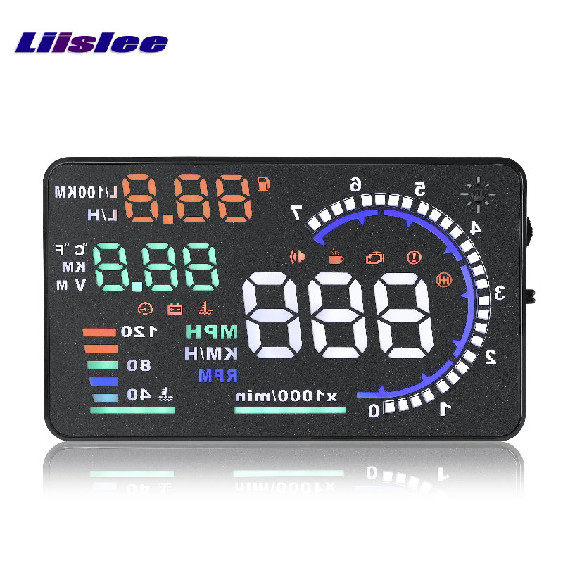 Liislee Car HUD Head Up Display For Mitsubishi Mirage Triton 2015 2016 - Safe Driving Screen Projector Refkecting Windshield triton мебель для ванной triton кристи 70 r