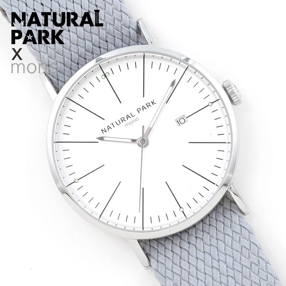 relojes hombre Top brand luxury Quartz Watch men Casual Business NATURAL PARK Nylon Strap Watch Men's Relogio gift Male Clock