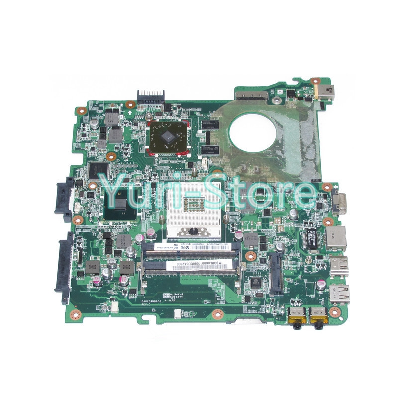 NOKOTION Laptop DA0ZQ9MB6C0 For Acer aspire 4738 4738G 4738Z 4738ZG MBRBL06001 MBRBL06001 Mainboard HM55 DDR3 GPU Onboard mb nbr06 002 mbnbr06002 for acer aspire 4738 4738g 4738zg laptop motherboard hm55 ddr3 free shipping 100