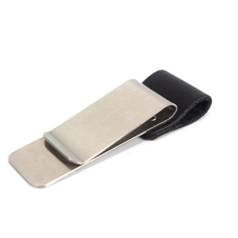 Junetree модели путешественника путешествия кожаный ноутбук дневники держатель ручки кошелек металлический медь клип 150709