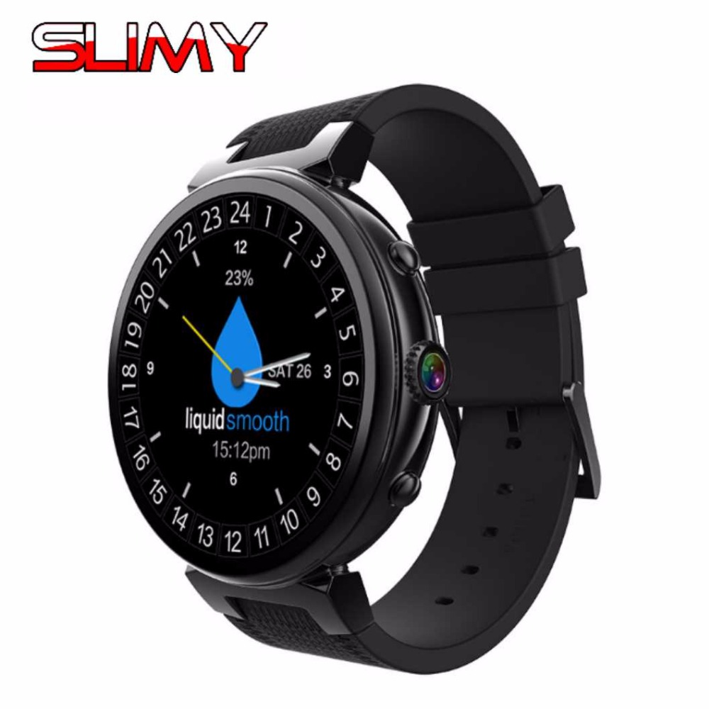 Slimy Smart Watch Android 5.1 Ram 2GB/Rom 16GB MTK6580 Watch Phone 3G Bluetooth for Android IOS Phone PK Ii/I4 Pro Smartwatches latest hi watch 2 bluetooth smart watch phone watch gps positioning micro letter generations for apple android ios phone