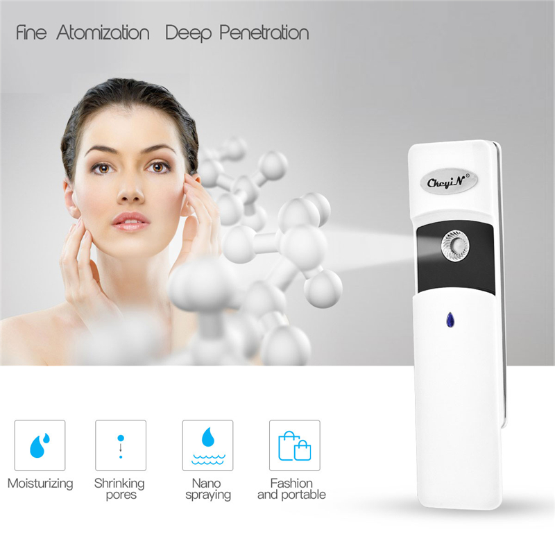 Portable 30ml Face Spray Bottle Nano Mister Facial Hair