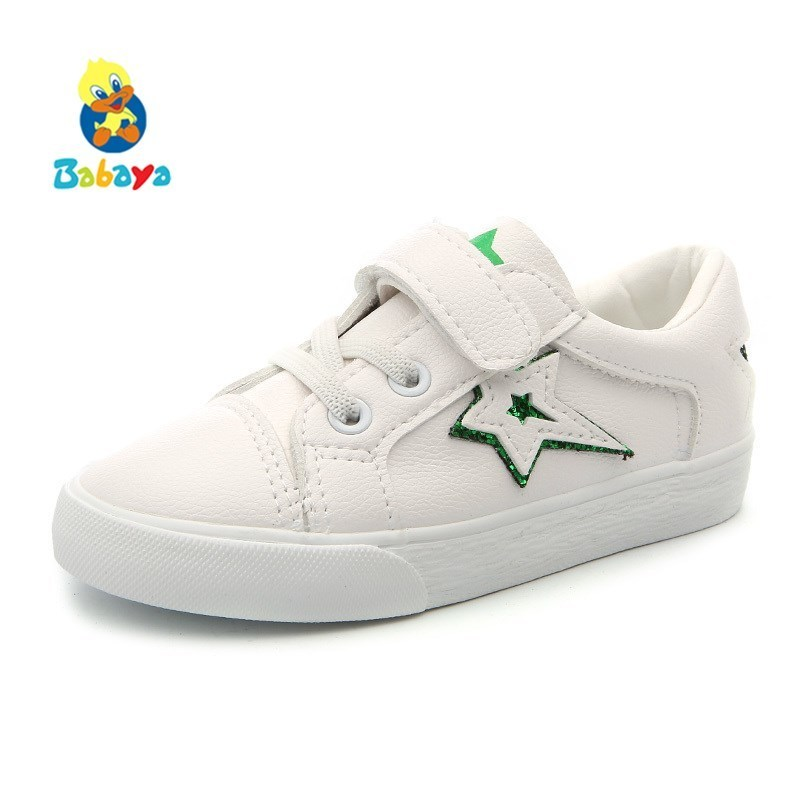 Children Sports Shoes Girls Casual Shoes Boys High Quality 2018 Spring New Fashion Kids Shoes For Girls Small White Sneakers