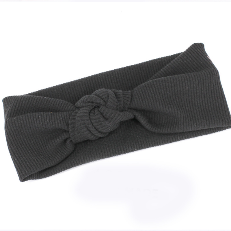 Купить с кэшбэком Sale Turban Headband for Women Bows Elastic Head Band Yoga Headwear Girls Hair Accessories
