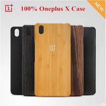 100% official Oneplus X wooden case bamboo case oneplusX back cover cases and covers wood original accessories standstone  style