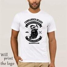 Comandante barba cortes de pelo y se afeita Barbero tienda dtg mens t camisa regalo camisetas camiseta hip Hop Tee camisa nueva