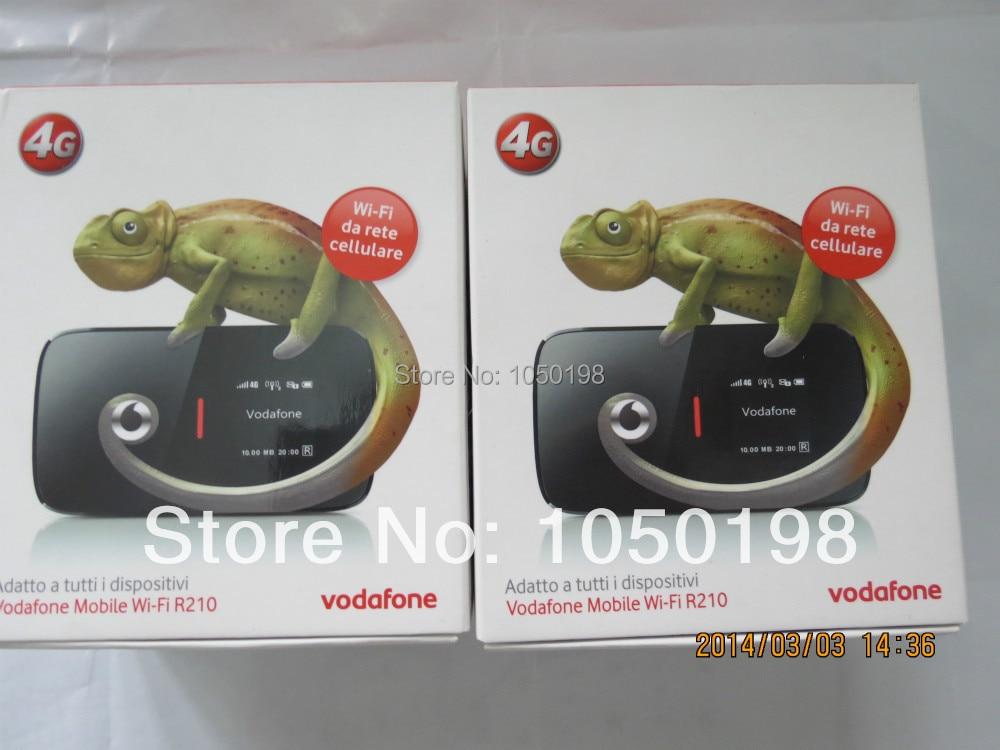 Vodafone R210 LTE Mobile Hotspot bis 100 Mbits DC-HSPA+ MiFi Hotspot vodafone r210 4g lte mifi hotspot
