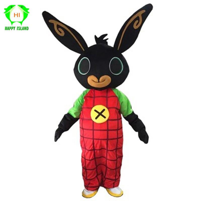 Halloween tir lapin BING dessin animé mascotte costume Cosplay costume fantaisie robe vêtements noël carnaval fête adulte