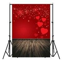 210X150cm Vinyl Love Heart Studio Photo Backdrop Photography Background Cloth Photo Props Valentine S Day Wedding