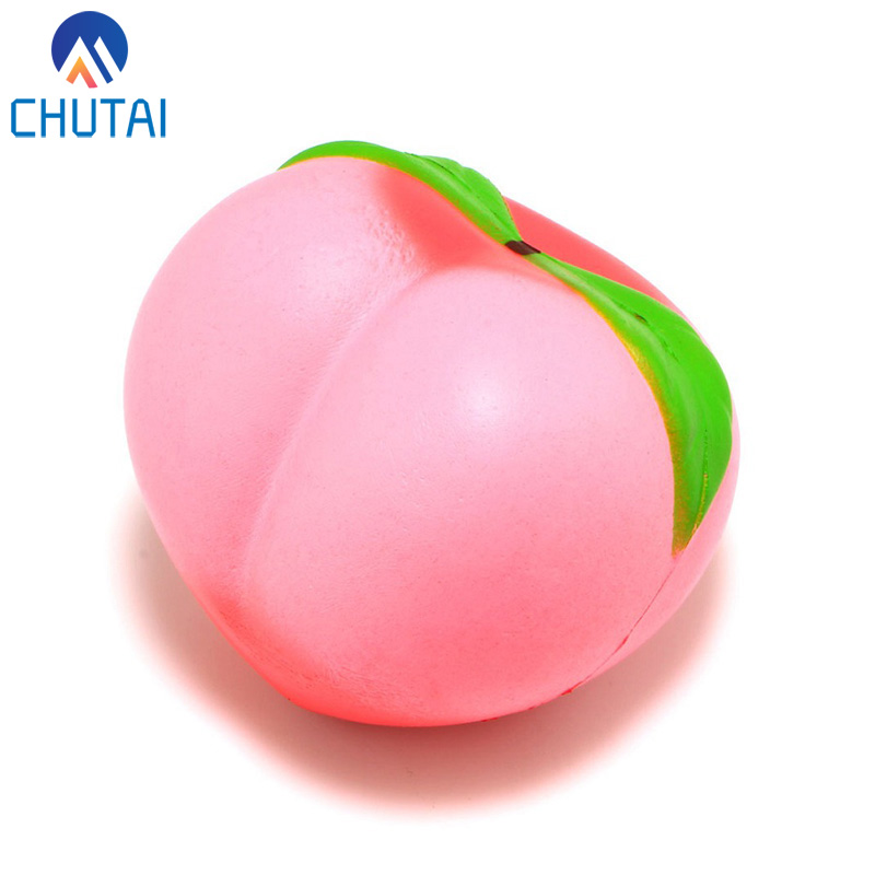Colossal Soft Squishy Peaches Cream Scented Super Slow Rising Stress Relief Squeeze Toys Party Xmas Gift For Kids 10*9CM
