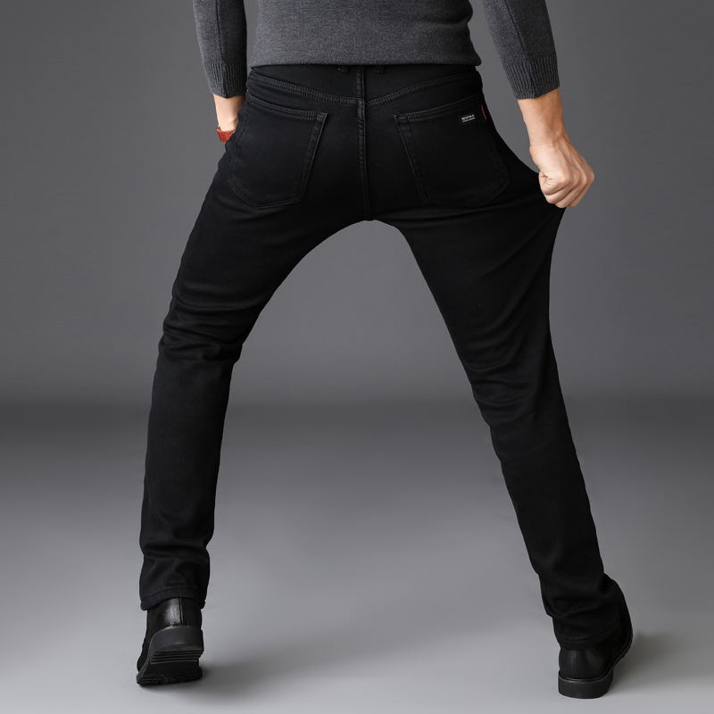 c41a95d8 Brands Jeans Trousers Men Clothes 2019 New Black Elasticity Skinny Jeans  Business Casual Male Denim Slim Pants Classic Style-in Jeans from Men's  Clothing on ...