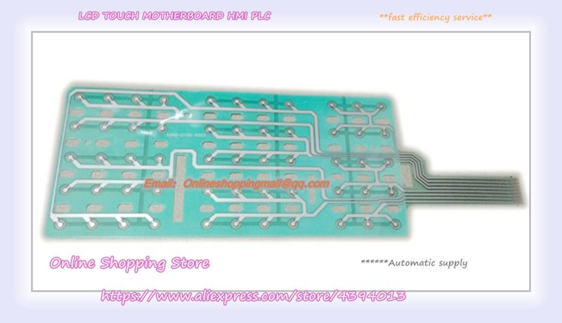 New original offer Membrane keypad A860-0106-X002 A20B-2003-0780 mantra 0780