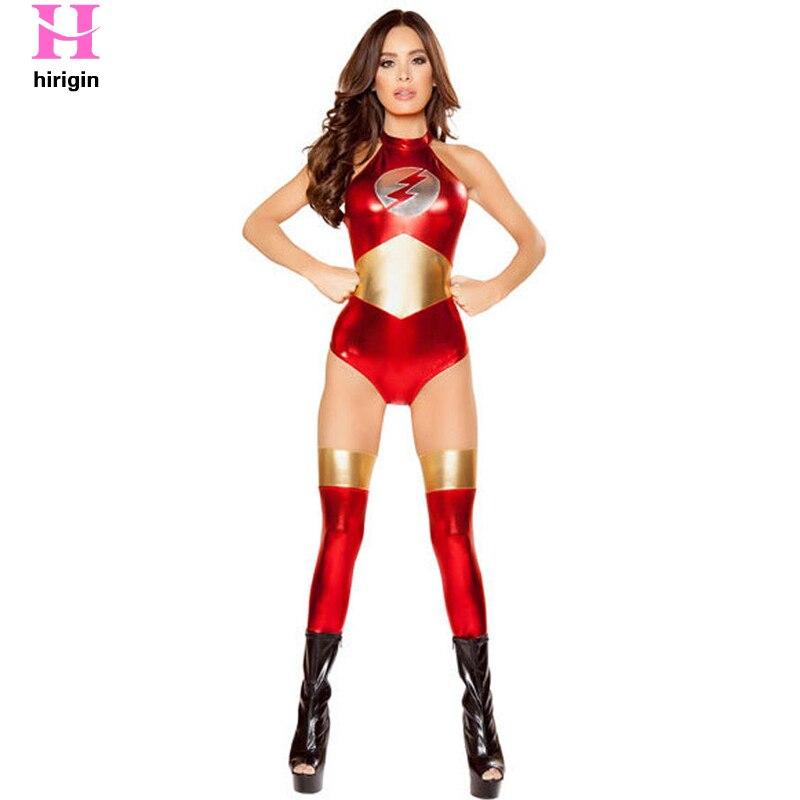 Female Warrior Jumpsuit Wonder Woman Zentai Bodysuit -8414