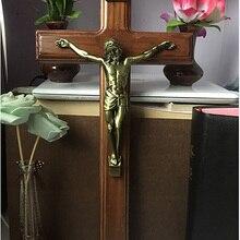 С изображением католической святыни крестик христианский Иисуса керамические украшения подарок Библейский домашний декор крест Бог Рисунок Статуя крещение сувенир подарок