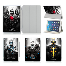 Cool Distinctive League of Legends LOL Sport Sample Case For Apple IPad Air 2 With Stand Flodable PU Leather-based Case Cowl