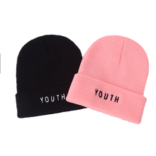 Hot Sales! YOUTH Unisex Brand Winter Hat For Men Skullies Beanies Women Men Cap Fashion Warm Knit Beanies Hat Elasticity hot sale hat female smiling brand casual fashion high quality knitted warm winter women cap men skullies beanies