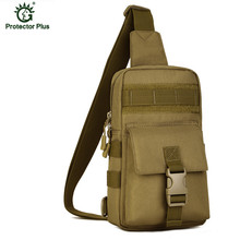 Men Tactical Chest Pack Outdoor Travel Crossbody Sling Bag Hiking Camping Equipment Army Military Police X38