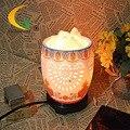 Ocas de cerâmica lâmpada quarto lâmpada de cristal de sal Do Himalaia Luzes de computador a luz da noite pequena lâmpada de mesa Livro