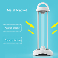 Portable UV Disinfection Lamp Household Ozone Deodorization Sterilization Light TN88