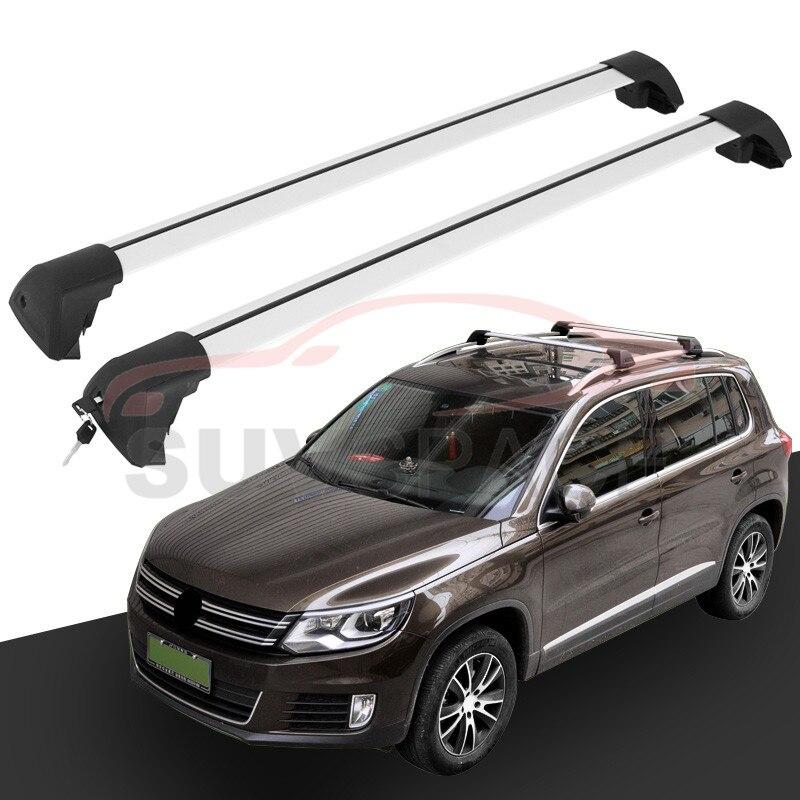 fit for volkswagen vw tiguan 2010 2011 2012 2013 2014 2015 2016 new arrival baggage luggage roof. Black Bedroom Furniture Sets. Home Design Ideas
