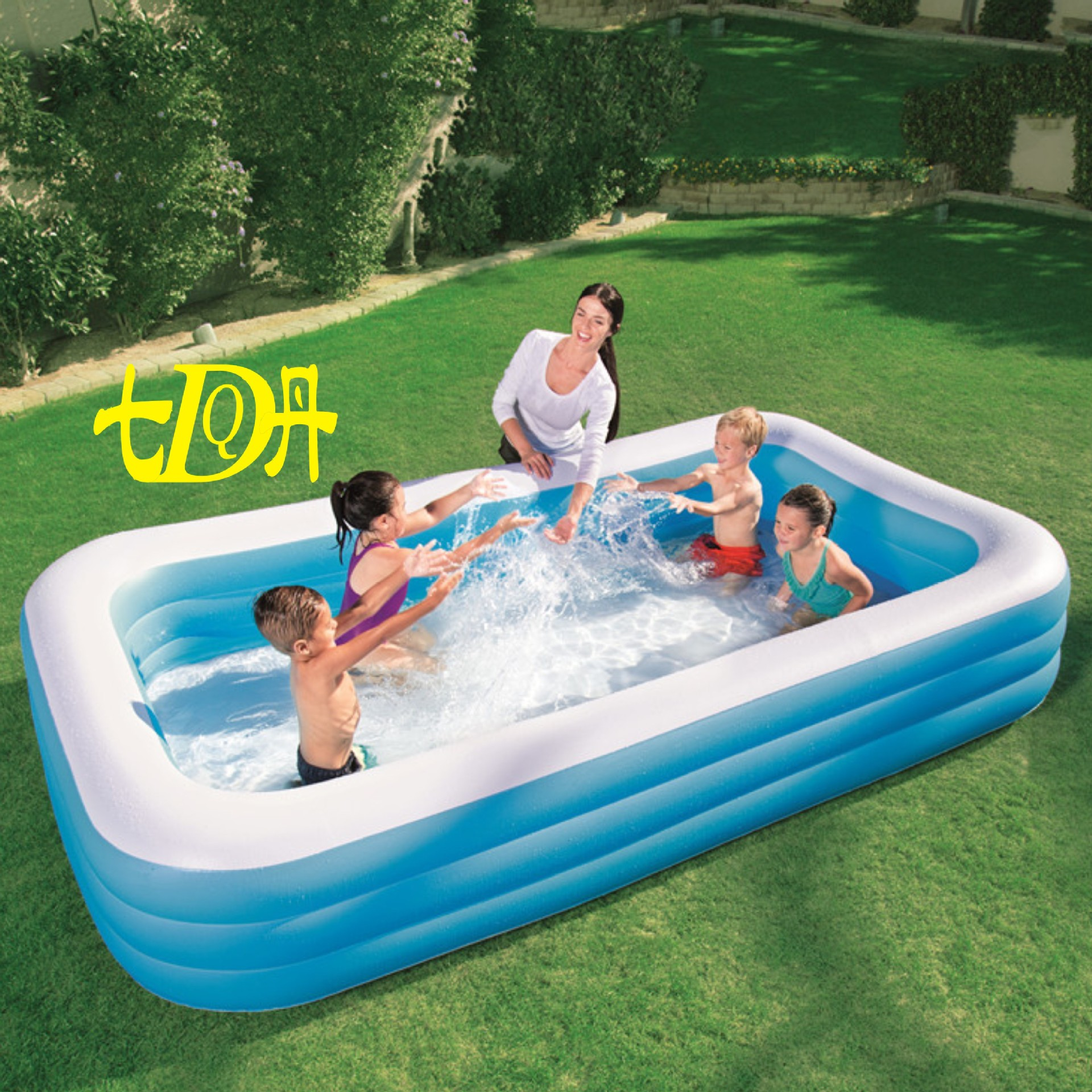 Baby Inflatable Pool Family Inflatable Pool Adult Bath Barrel Children Swimming Pool JjK1aMCyY9
