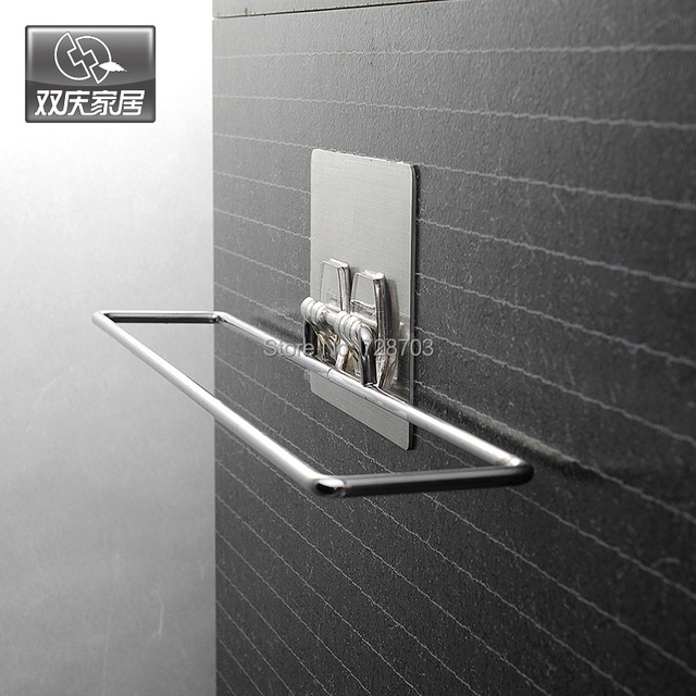 Free Shipping High Quality Wall Mounted Type Wiping Rag Holder Kitchen Hand Towel Rack Dishcloth