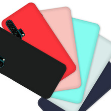 For Huawei Honor 20 Silicone Case TPU Soft Protector Back Cover pro lite case phone cases