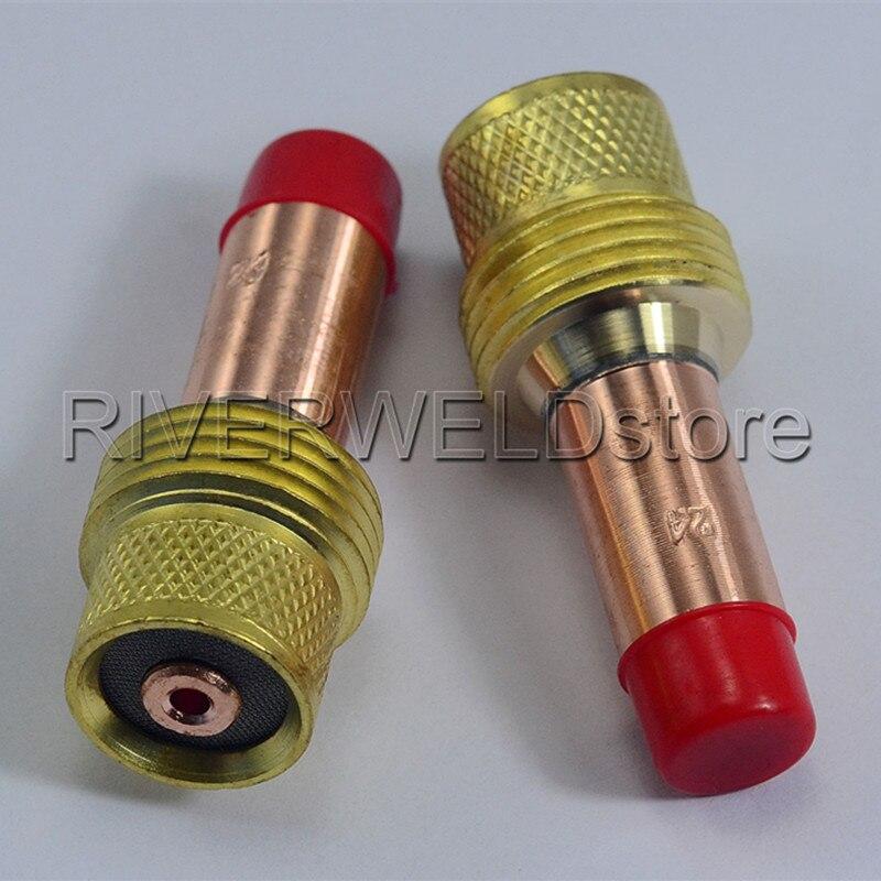 TIG Collets Body Gas Lens 45V26 2.4mm & 3/32