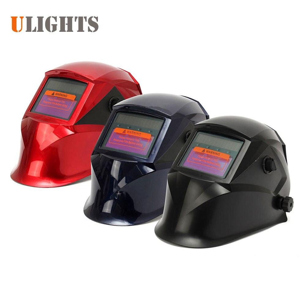 Pro Solar Electric Welder Mask Auto-Darkening Welding Helmet Lens ARC MIG Tig Grinding Welding Face Mask Cap for Welding Machine  цены