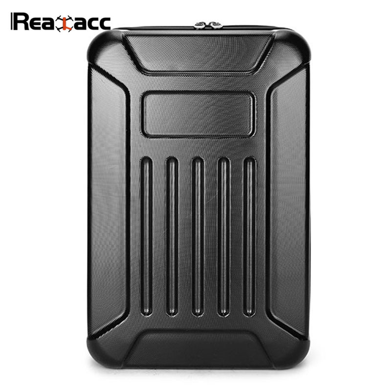 Original Realacc Waterproof Hard Shell Backpack Case Shoulder Bag Suitcase For Hubsan X4 H501S Standard Version RC Quadcopter 12mm waterproof soprano concert ukulele bag case backpack 23 24 26 inch ukelele beige mini guitar accessories gig pu leather