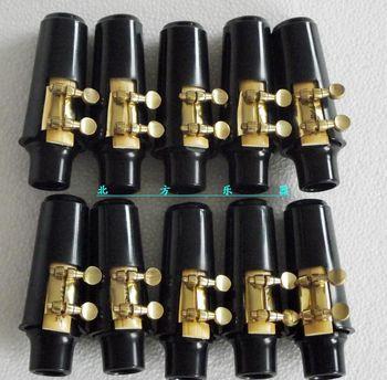 10 sets Alto saxophone mouthpiece and ligature and cap