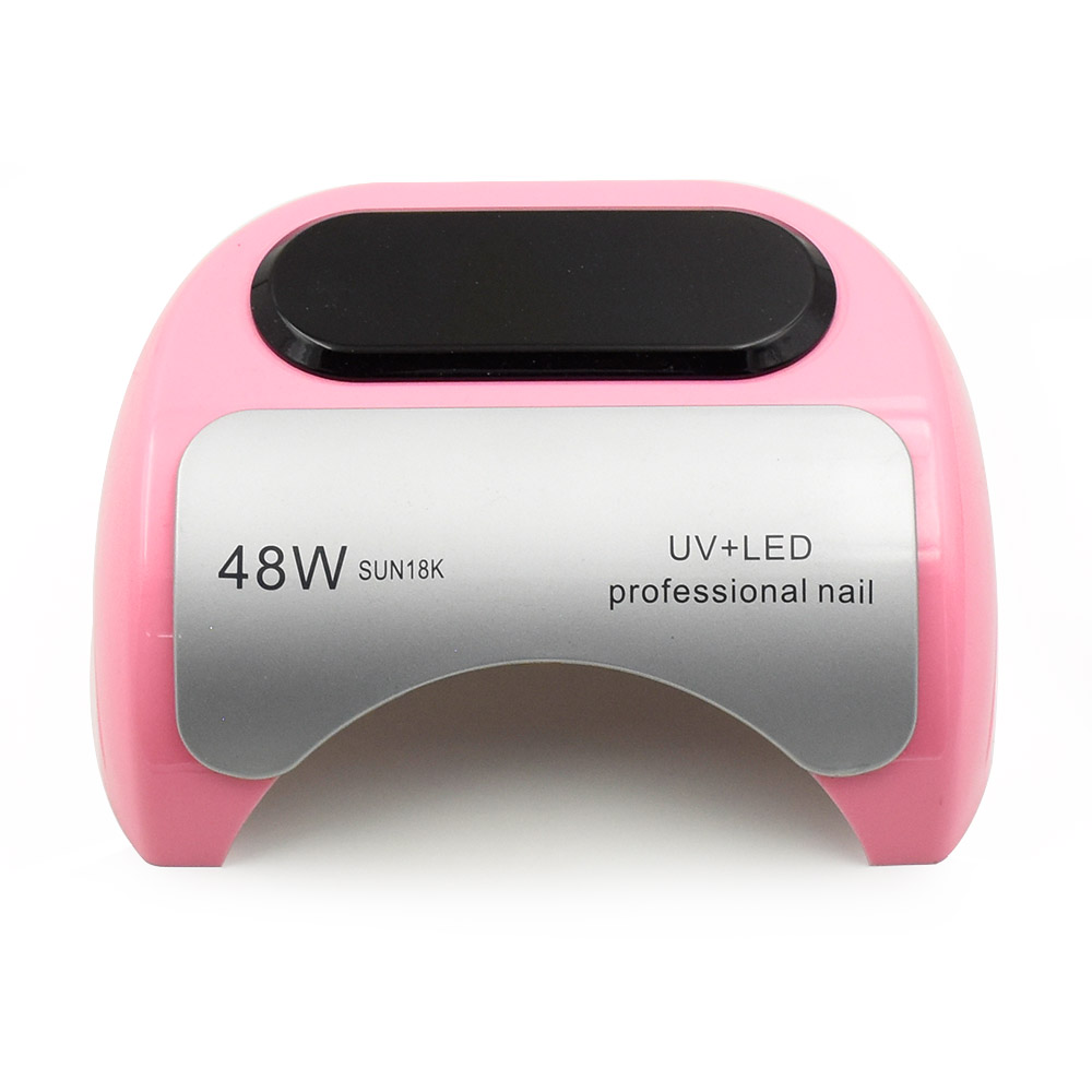 48W UV LED Nail Dryer nail Lamp Automatic Sensor Curing Both LED Gel UV Gel Professional Nail Lamp manicure nail art tools new pro 48w nail lamp manicure dryer fit uv led builder gel all nail polish nail art tools sun5 professional machine