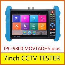 IPC-9800 MOVTADHS plus with New 7 inch IPS touch screen cctv tester,1280*800 resolution support wifi