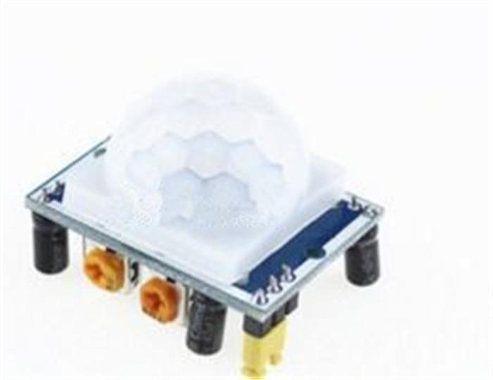5PCShot SR501 HC SR501 Adjust IR Pyroelectric Infrared PIR module Motion Sensor Detector Module for arduino
