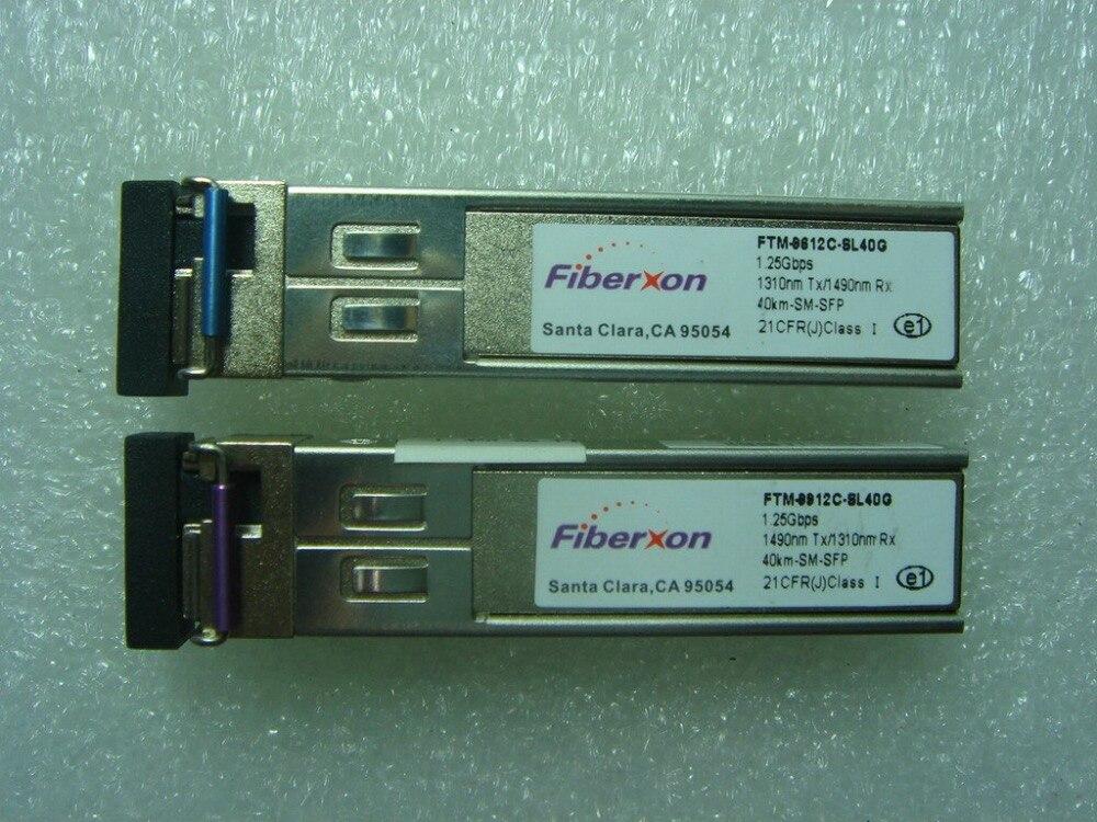 Fiberxon FTM-9612C-SL40G 1.25G 1310nm Tx/1490nm Rx 40km-SM-SFP Optical ModuleFiberxon FTM-9612C-SL40G 1.25G 1310nm Tx/1490nm Rx 40km-SM-SFP Optical Module